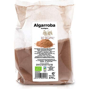 Algarroba en polvo ecológica LO BLANC - 375 G