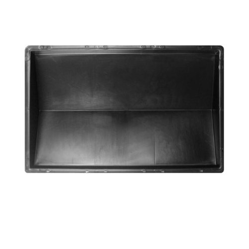 @tec Betonform Schalungsform Gießform Polypropylen (Kunststoff) - Mauerabdeckung/Abdeckplatte GLATT - 39 x 27 x 5,5 cm