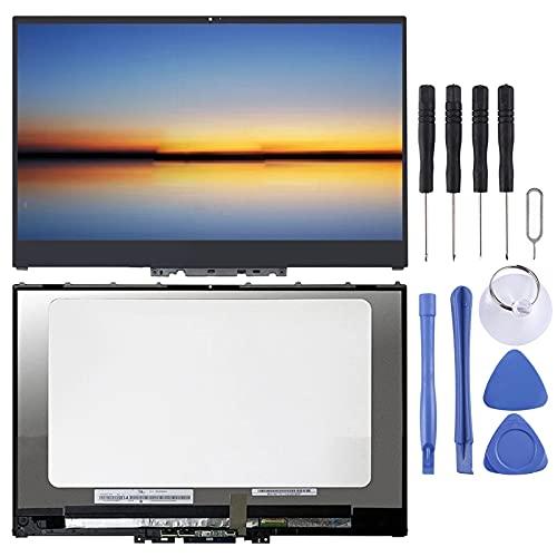 ASAMOAH Pantalla LCD de reemplazo de teléfono Celular 3840 x 2160 Pantalla LCD y digitalizador Digitalizador UHD 40 Pin con Marco para Lenovo Yoga 720-15 720-15KB
