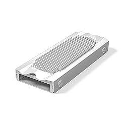 ORICO M.2 2280 SSD heatsink, Aluminum M.2(NVMe/SATA) Heatsink Cooler with Silicone Thermal Pad-Silver