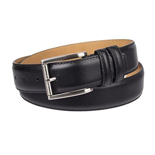 Chaps Men's Casual Belt, black, Small (32-34)