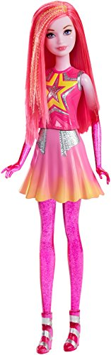 Mattel Barbie Doll Star Light Adventure Barbie Star - Pink (Dlt28)