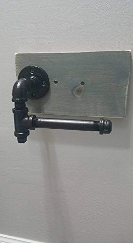 Industrial Farmhouse Steampunk Mail order cheap Toilet Max 63% OFF with Holder Plug Paper