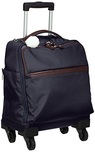 [カナナ プロジェクト] スーツケース カナナマイトロリー サイレントキャスター搭載 ソフトキャリー 100席以上機内持込み対応 南京錠付き 19L 55272 機内持ち込み可 35 cm 2kg ネイビー
