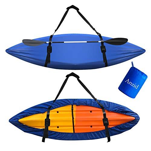 Anzid Waterproof Kayak Canoe Cover for Outdoor Storage, Canoe Accessories,Kayak...