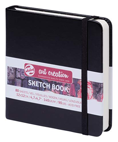 Talens Sketch Book Skizzenbuch 12x12cm, 140g/m², 80 Blatt
