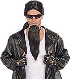 Forum Novelties 70911 Bad Biker Black Goatee, One Size