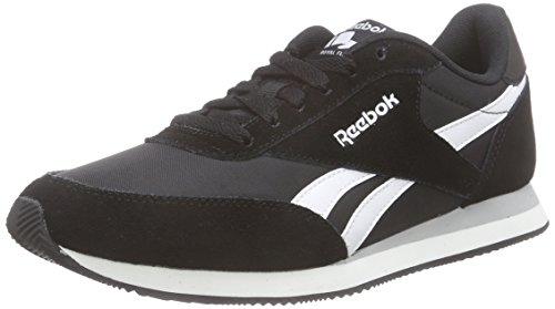 Reebok Herren Royal Classic Jogger 2 Sneakers, Schwarz (Black/White/Baseball Grey), 36 EU