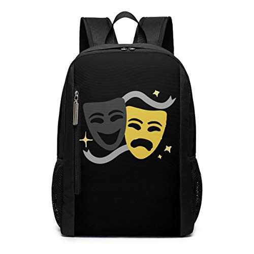 CZZD Theatre is My Sport Travel Laptop Backpack Schoolbags Men and Women On Campus