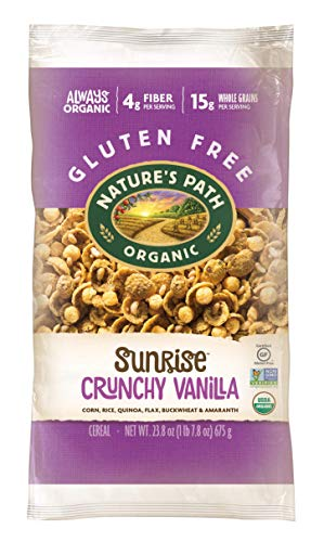 Nature's Path Organic, Crunchy Vanilla Sunrise, 23.8 Ounce.