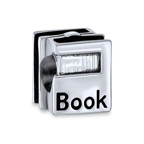 Absolvent Bücher Wurm Leser Charm Perle Für Frauen Für Teen Graduierung 925 Sterling Silber Passt Europäische Armband