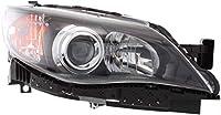ヘッドライトアセンブリ 2008-2011 スバル インプレッサ ハロゲン セダン/ワゴン 助手席側に対応