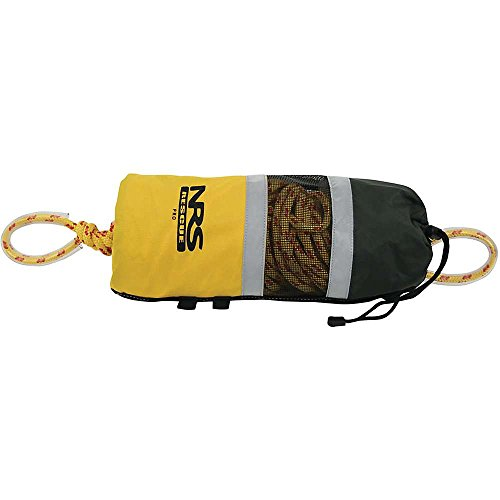 NRS Pro Rescue Throw Bag Yellow 3/8IN x 75 FT