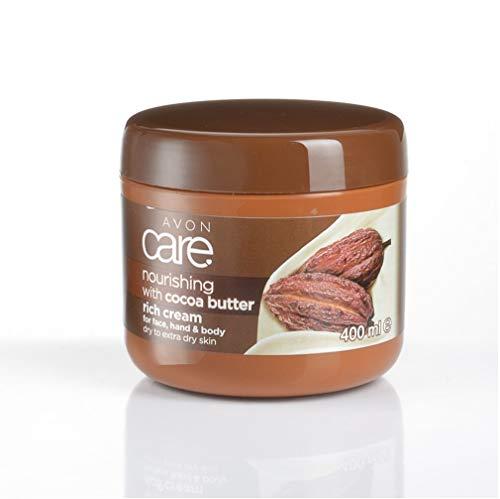 Avon Care 10448 Lozione idratante al burro di cacao per il viso delle mani e del corpo