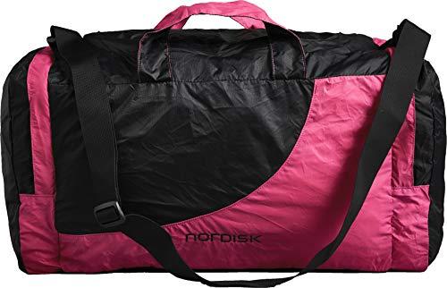 Nordisk Billund 45 Travel Bag Reisetasche Tasche, Black/Raspberry Pink