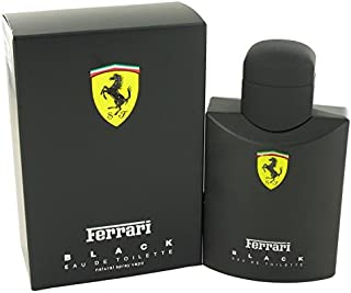 FERRARI BLACK by Ferrari Eau De Toilette Spray 4.2 oz for Men - 100% Authentic