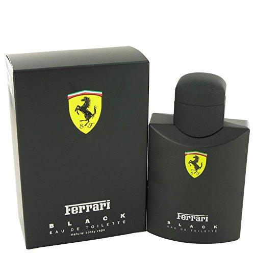 FERRARI BLACK by Ferrari Eau De Toilette Spray 4.2 oz for Men - 100% Authentic