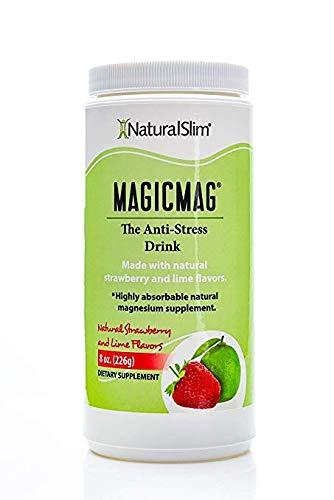 New RelaxSlim bebida Anti estres Puro Citrato-de Magnesio en polvo con O