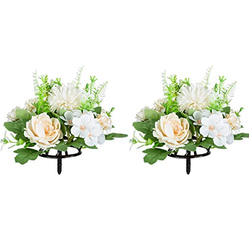 Flores Artificiales Para Cementerio De Plastico flores artificiales  Marca Nuptio