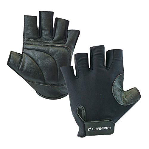 Champro Padded Catcher s Glove (Black, One size fits all)