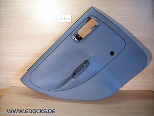 Türverkleidung Verkleidung Türpappe Tür hinten links grau Corsa C 5-Türer Opel
