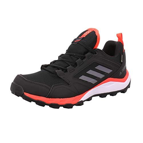 adidas Terrex Agravic TR GTX, Zapatillas Deportivas para Hombre, Core Black/Grey Four F17/SOLAR Red, 47 1/3 EU