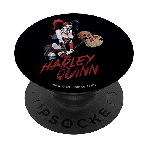Harley Quinn Big Hammer PopSockets PopGrip: Swappable Grip for Phones & Tablets