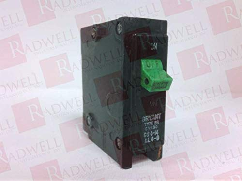 BRYANT BR130 30 AMP, Thermal Magnetic Protection, 120/240VAC, Circuit Breaker, Type BR, Discontinued by Manufacturer, 1 Pole
