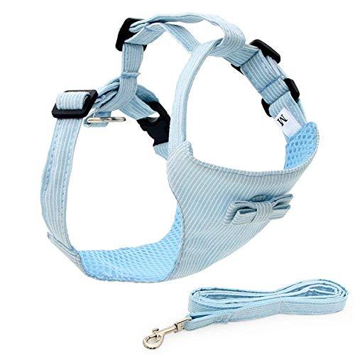 STM32 by ST Chaleco Anti-Escape para Gatos en Forma de I, Cuerda de tracción y Cuerda para Caminar para Gatos, Suministros para Gatos Chaleco Ajustable de Malla Suave Anti-Escape