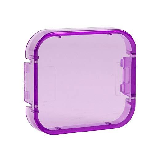 oobest 6 Kleuren Filters voor GoPro Hero 5 Onderwater Video Filmen Duiken Waterdichte Kleur Correctie Filter, Paars
