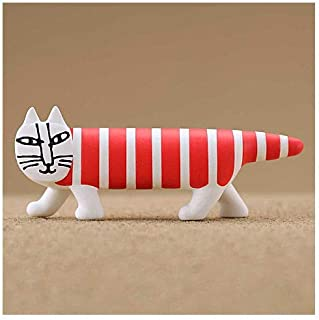 カプセルQミュージアム Mikey Lots of cats Collection Vol.2 (リサ・ラーソン マイキーコレクション Vol.2 ) [1.ストライプレッド (Red stripes Cat)](単品) ガチャガチャ カプセルトイ