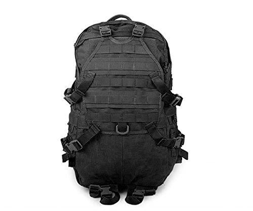 Canis Latrans Tactical Assault Molle Backpack Camping Hiking Trekking Bag Black