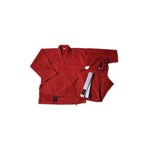 ProForce Gladiator 7.5oz Karate Gi / Uniform - Red - Size 1