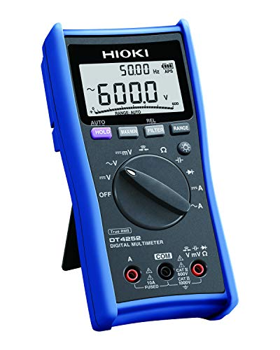 Hioki DT4252 Standard Digital Multimeter with Direct Current Input for General Applications