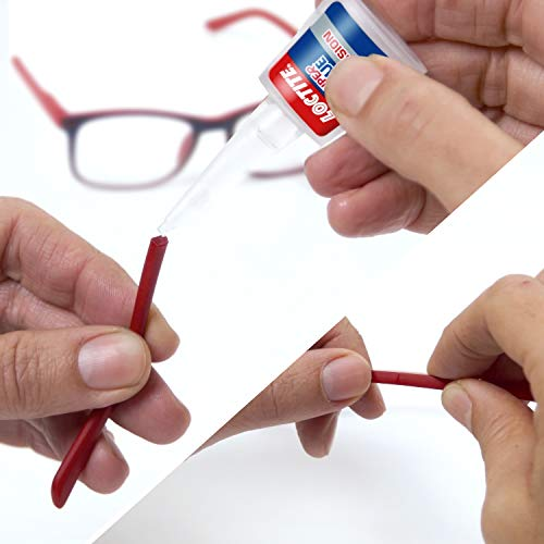 Loctite Precision, Strong All Purpose Adhesive for High-Quality, Accurate Repairs, Instant Super Glue for Various Materials, Easy to Use Clear Glue, 1 x 5 g