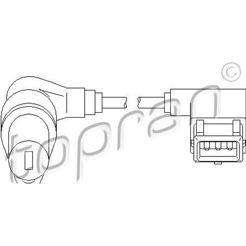 Topran Capteur de vitesse pour moteur Gestion, 501 294