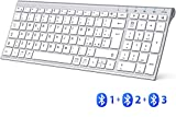 miglior Tastiera Bluetooth, Tastiera Ricaricabile Multi-Di