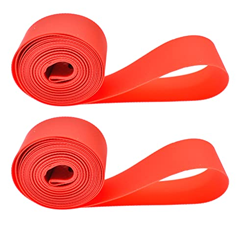 Minyou Bicycle Tire Inner Tube Pad PVC Bicycle Inner Tube Tyre Protection Pad Liner Bike Tire Rim Tape (20inch)