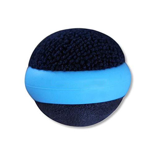 BEST SHOPPER Awesome TF Touch Screen Cleaning Ball Dual Action Microfiber Compatible with Smart Phone/Tablet/Laptop - Sky Blue