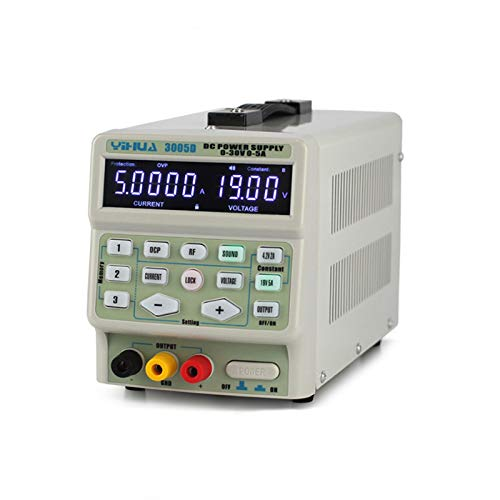 SISHUINIANHUA 3005D 30V 5A DC-Stromversorgung Einstellbare Digitalanzeige Labor DC Netzteile für Reparatur-Werkzeuge