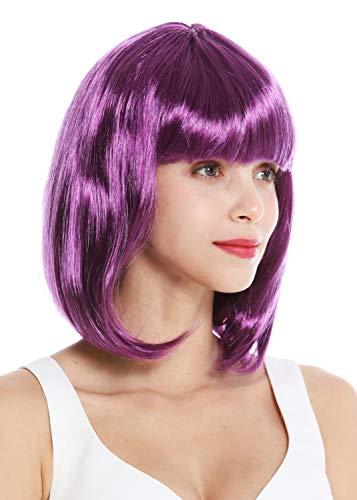comprar pelucas lila corta en internet