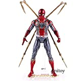 lkw-love Hot Toys Marvel Avengers Infinity Is Iron Spider Spiderman Figura de acción PVC Spider Man ...