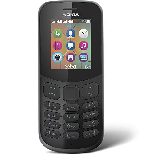 Nokia 130 PAYG Mobile Phone (Black) Vodafone