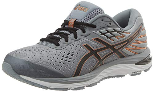 ASICS Herren Gel-cumulus 21 Running Shoe, Sheet Rock/ Schwarz, 46 EU
