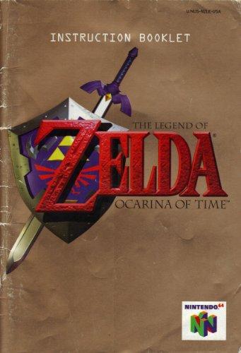 The Legend of Zelda - Ocarina of Time N64 Instruction Booklet (Nintendo 64 Manual Only) (Nintendo 64 Manual)