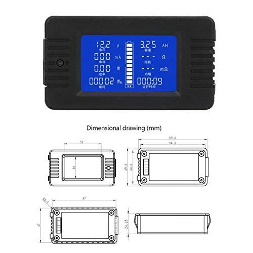 Oferta de Power Energy Battery Tester Tensión de corriente para prueba de batería para prueba de instrumentos(015 English (self-provided shunt))