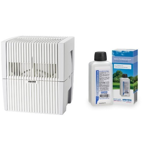 Venta 7025501 Luftwäscher LW 25 weiss / grau + Venta 6328000 Reiniger