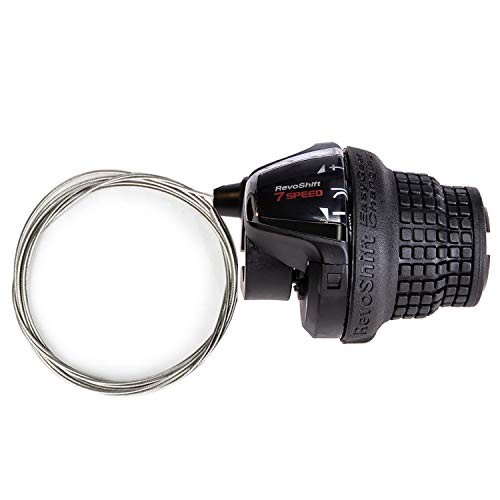 ZUKKA Shimano Revoshift Right Shift Lever, SL-RS35-7R Bike Handle Shifter,7-Speed Twist Grip Gear,MTB Mountain Bicycle Derailleur Transmission…