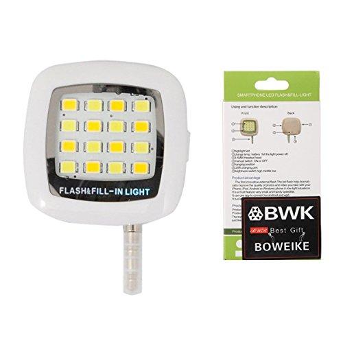 Boweike Mini Portatile16 LED Selfie Flash Fill in