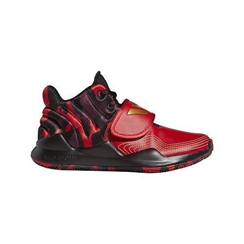 adidas Deep Threat J, Zapatillas, Escarl Dormet Negbás, 36 EU